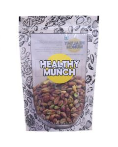 Healthy Munch Premium Pistachio Kernels (Raw/Unsalted)-200gm