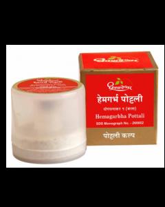 Dhootapapeshwar Hemagarbha Pottali-1gm