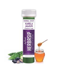 Axiom Herbasip Karela Jamun  Juice Shots-50ml Pack of 12 Shots