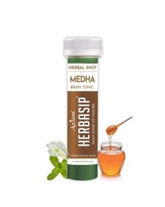 Axiom Herbasip Medha  Juice Shots -50ml Pack of 12 Shots
