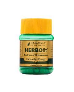Dr. Vaidya's Herbofit Pack of 2 Chyawanprash Capsules Immunity & Energy-60 Capsules