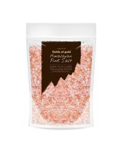 Pristine Organics Fields of Gold Rock Salt Granules-500gm