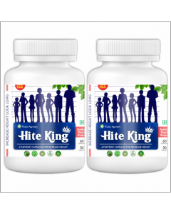 Kaahan Ayurveda Hite King-60Capsules Pack of 2pc