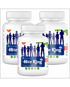 Kaahan Ayurveda Hite King-60Capsules Pack of 3pc