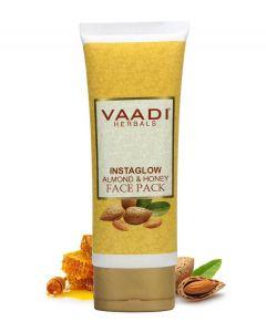 Vaadi Herbals InstaGlow Almond & Honey Face Pack-120 gms