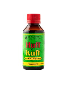 Dr. Vaidya's Huff N Kuff Syrup Pack of 2 - Cough &Throat Irritation-200ml