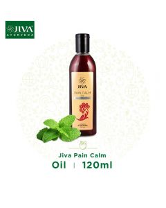 Jiva Ayurveda Pain Calm Oil for Joint and Muscular Pain-120ml