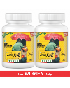 Kaahan Ayurveda Josh King Female-60Capsules Pack of 2pc