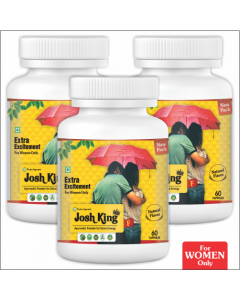 Kaahan Ayurveda Josh King Female-60Capsules Pack of 3pc