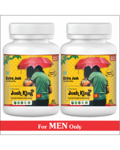 Kaahan Ayurveda Josh King Male-60Capsules Pack of 2pc