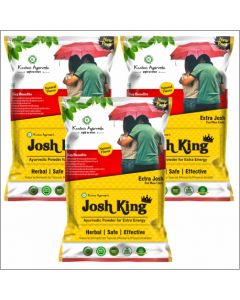 Kaahan Ayurveda Josh King Powder-150gm Pack of 3pc