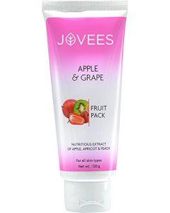 Jovees Herbal Apple & Grape Fruit Pack-120gm