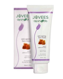 Jovees Ayurveda Sandal, Saffron & Honey Anti-Ageing Face Mask-120gm