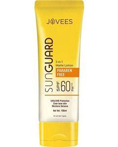 Jovees Herbal Sun Guard Lotion (SPF-60PA+++)-100ml