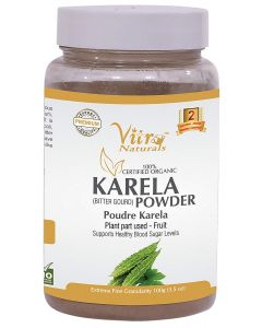 Vitro Naturals Certified Organic Karela Powder-100gm