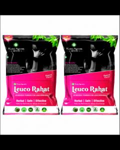 Kaahan Ayurveda Leuco Rahat-120gm Pack of 2pc