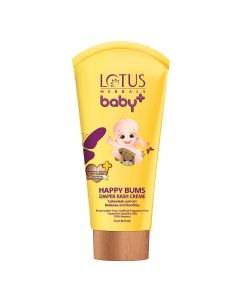Lotus Herbals Baby Happy Bums Diaper Rash Creme-100gm