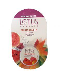 Lotus Herbals Lip Balm, Fruity Fusion-5gm