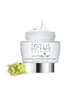 Lotus Herbals Whiteglow Gel Crème-60gm
