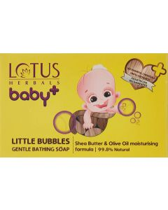 Lotus Herbals baby Little Bubbles Gentle Bathing Soap 75gm