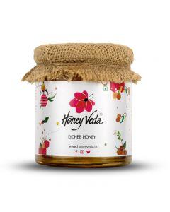 Honeyveda Lychee Honey - 250 gm