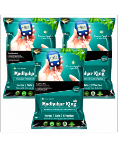Kaahan Ayurveda Madhuhar King-120gm Pack of 3pc
