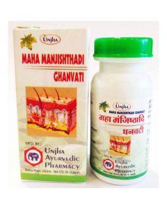 Unjha Maha Manjishthadi Ghanvati-100tab