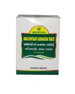 Nagarjuna Manjjishtaadi Kashaayam Tablets-100 Tablets