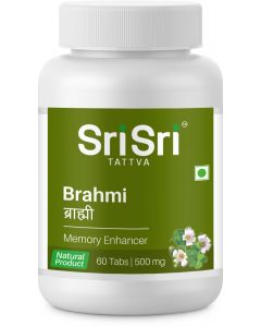 Sri Sri Tattva Brahmi 500Mg Tablet - 60 Count