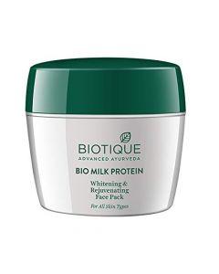Biotique Bio Milk Protien Whitening and Rejuvenating Face Pack-175gm