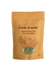 Pristine Fields of Gold Organic Moong Dal (Green gram split)-1kg