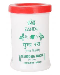 Zandu Mugdha Rasa (Parad Tablet)-35pc