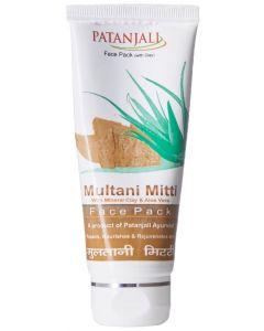 Patanjali Multani Mitti Face Pack-60gm