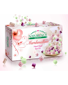 Naturence Herbals Marshmallow Medi Pedi Spa Kit-1.25kg