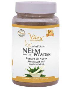 Vitro Naturals Certified Organic Neem Powder-100gm