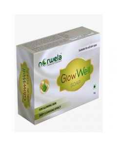 Norwela Glowwell Soap-75gm pack of 4pc