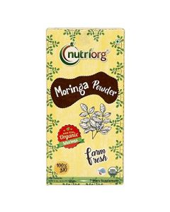 Nutriorg Certified Organic Moringa Powder-150gm