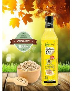 Nutriorg Certified Organic Sunflower Oil-1ltr
