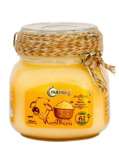 Nutriorg Pure Bilona Bhartiya Desi Cow Ghee - 500ML