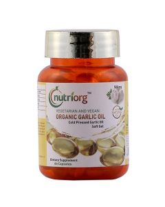 Nutriorg Garlic Capsules 60 Capsules-500Mg