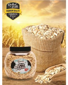 Nutriorg Gluten Free Rolled Oats-500gm