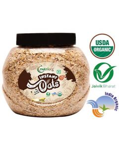 Nutriorg USDA Certified Organic Instant Oats-500gm