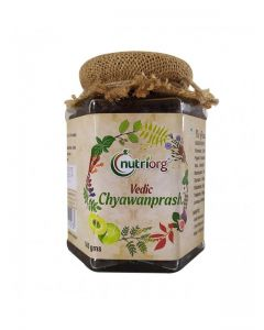 Nutriorg Vedic Chyawanprash (Made From Organic Herbs & Fruits)-250gm
