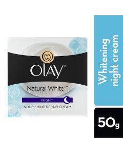 Olay Natural White Night Nourishing Repair Cream–50gm