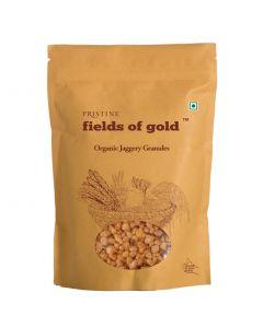 Pristine Organics Fields of Gold Organic Jaggery Granules-500gm