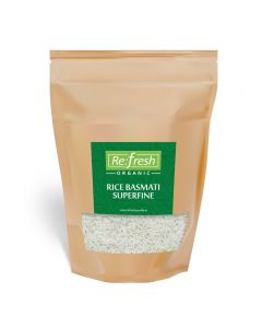 Refresh Organic Rice Basmati Superfine-1kg