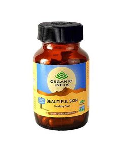 Organic India Beautiful Skin Capsules-60gm