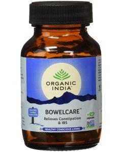 Organic India Bowelcare - 60 Capsules Bottle