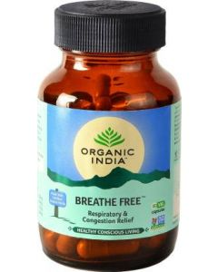 Organic India Breathe Free-60 Capsule