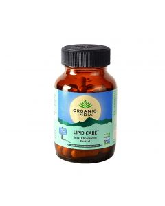 Organic India Lipidcare - 60 Capsules Bottle
